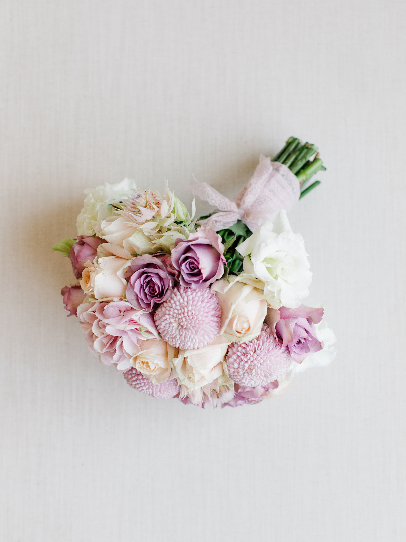 Pink Pastel Wedding Bouquet | Image: Rensche Mari
