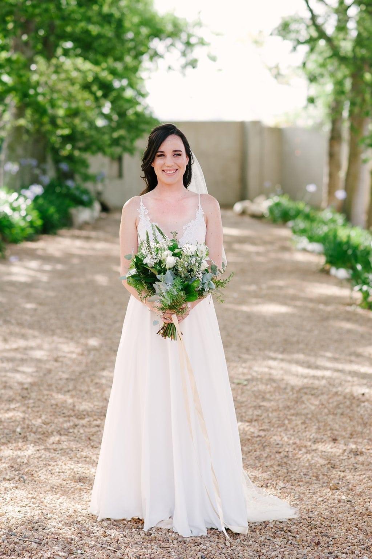 Spaghetti Strap Wedding Dress | Image: Cheryl McEwan