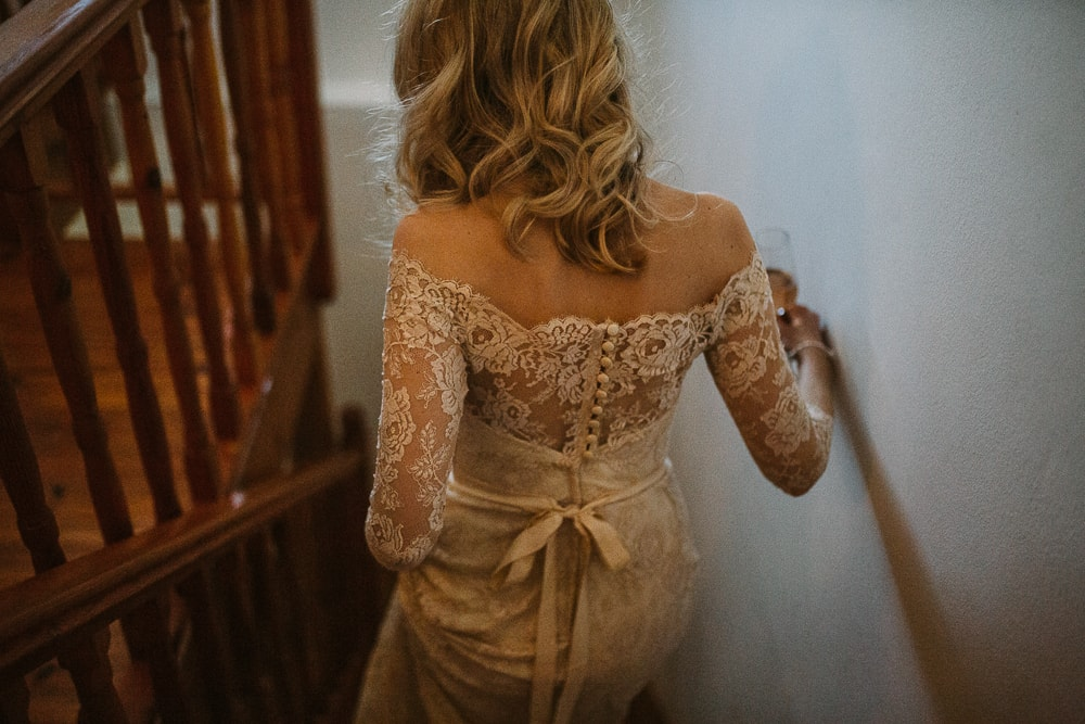 Off Shoulder Chantilly Lace Dress | Image: Hayley Takes Photos