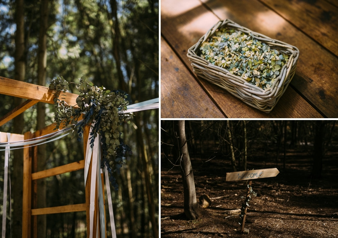 Forest Wedding | Image: Hayley Takes Photos