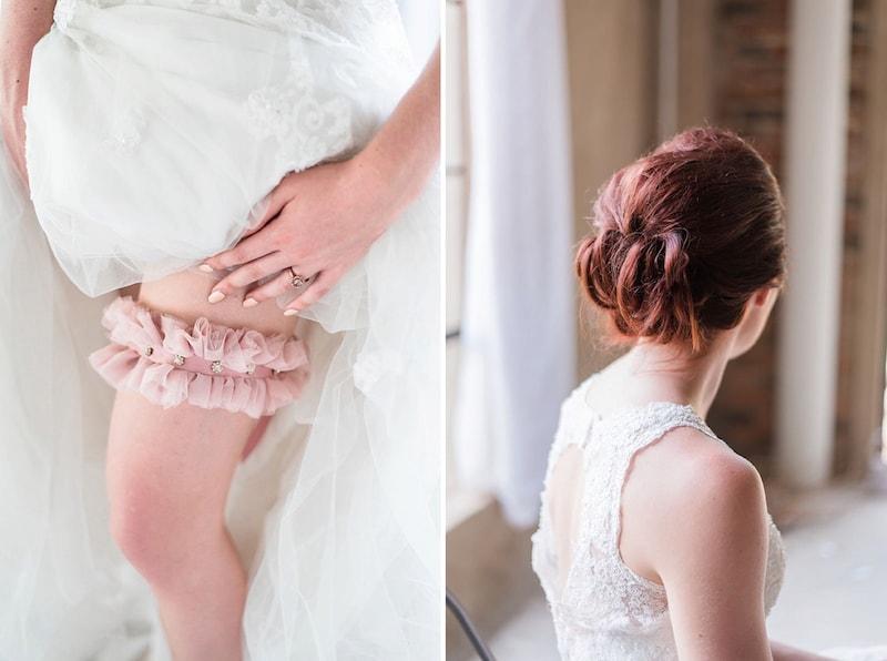 Pink Bridal Garter | Image: Marilize Coetzee