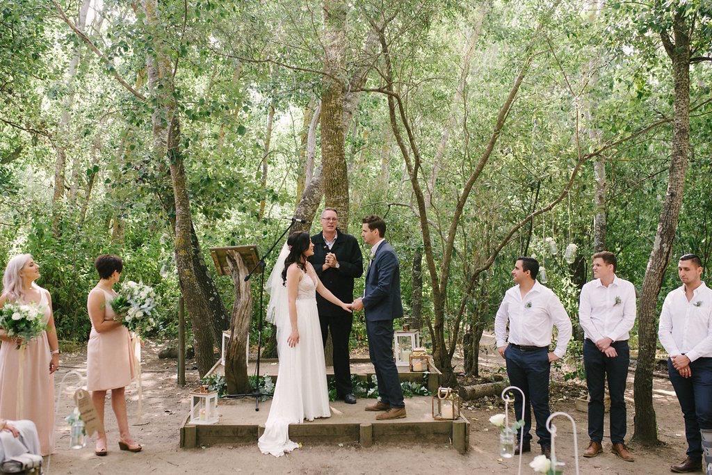Forest Wedding Ceremony | Image: Cheryl McEwan