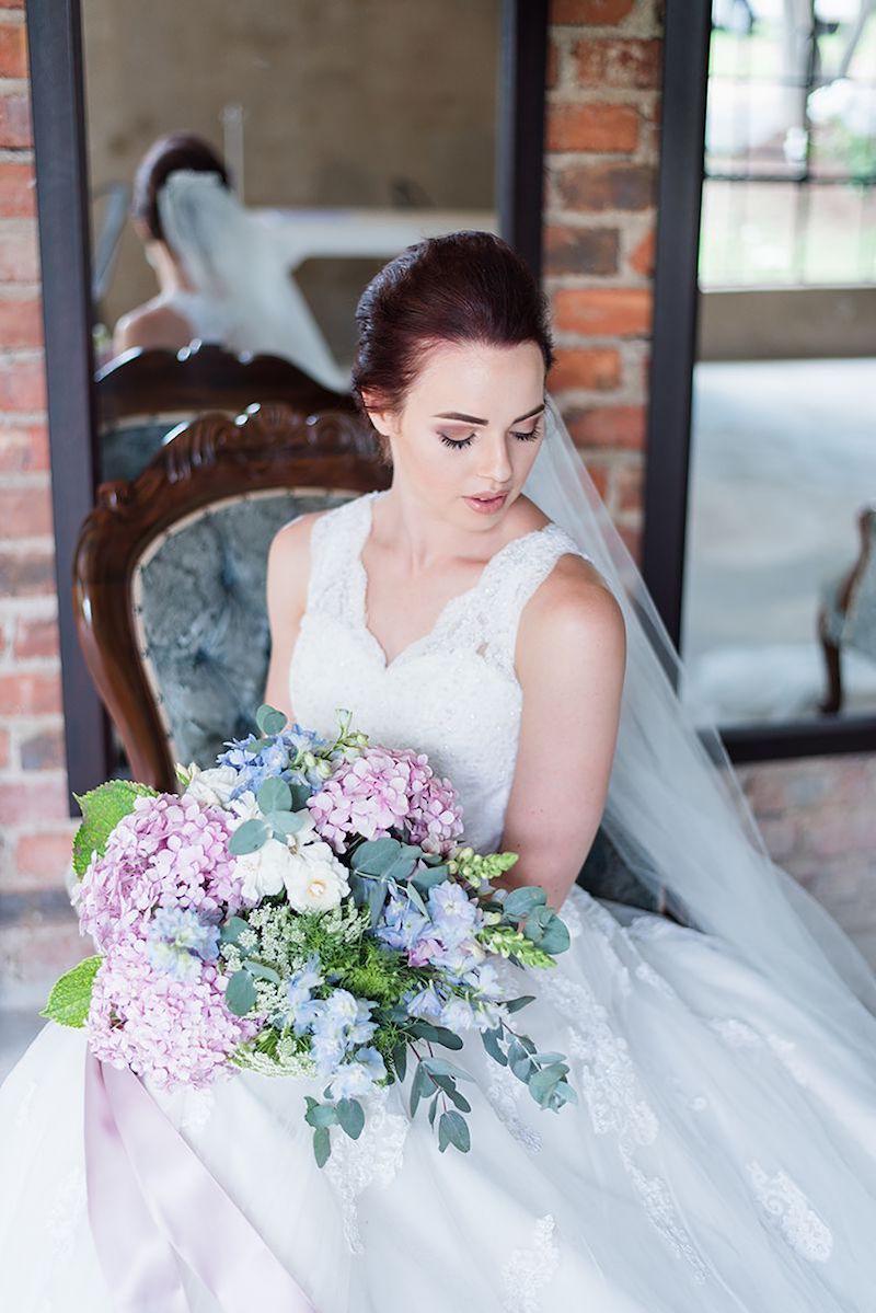 Pastel Bridal Bouquet | Image: Marilize Coetzee
