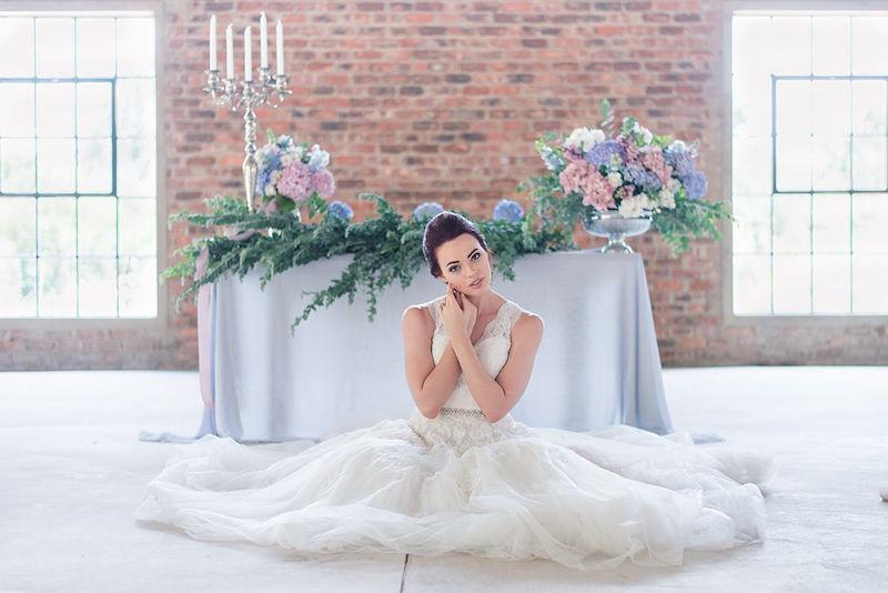 Sweet Hydrangea Wedding Inspiration | Image: Marilize Coetzee
