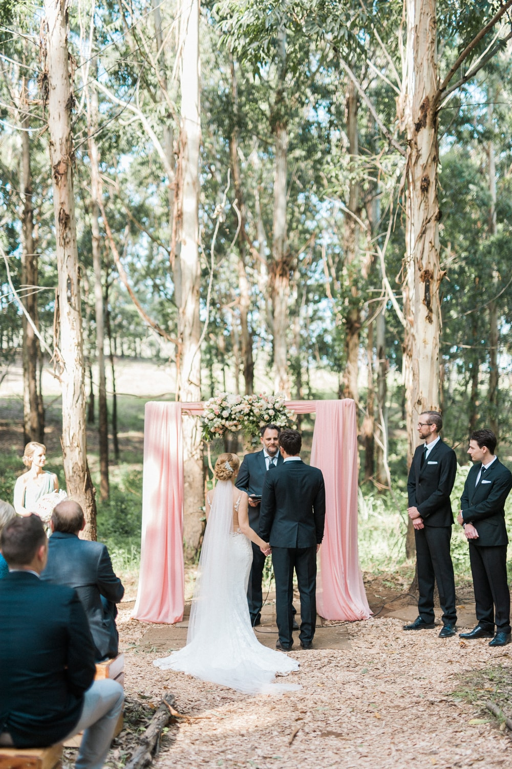 The Venue Fontana Forest Wedding Ceremony | Image: Bright Girl Photography