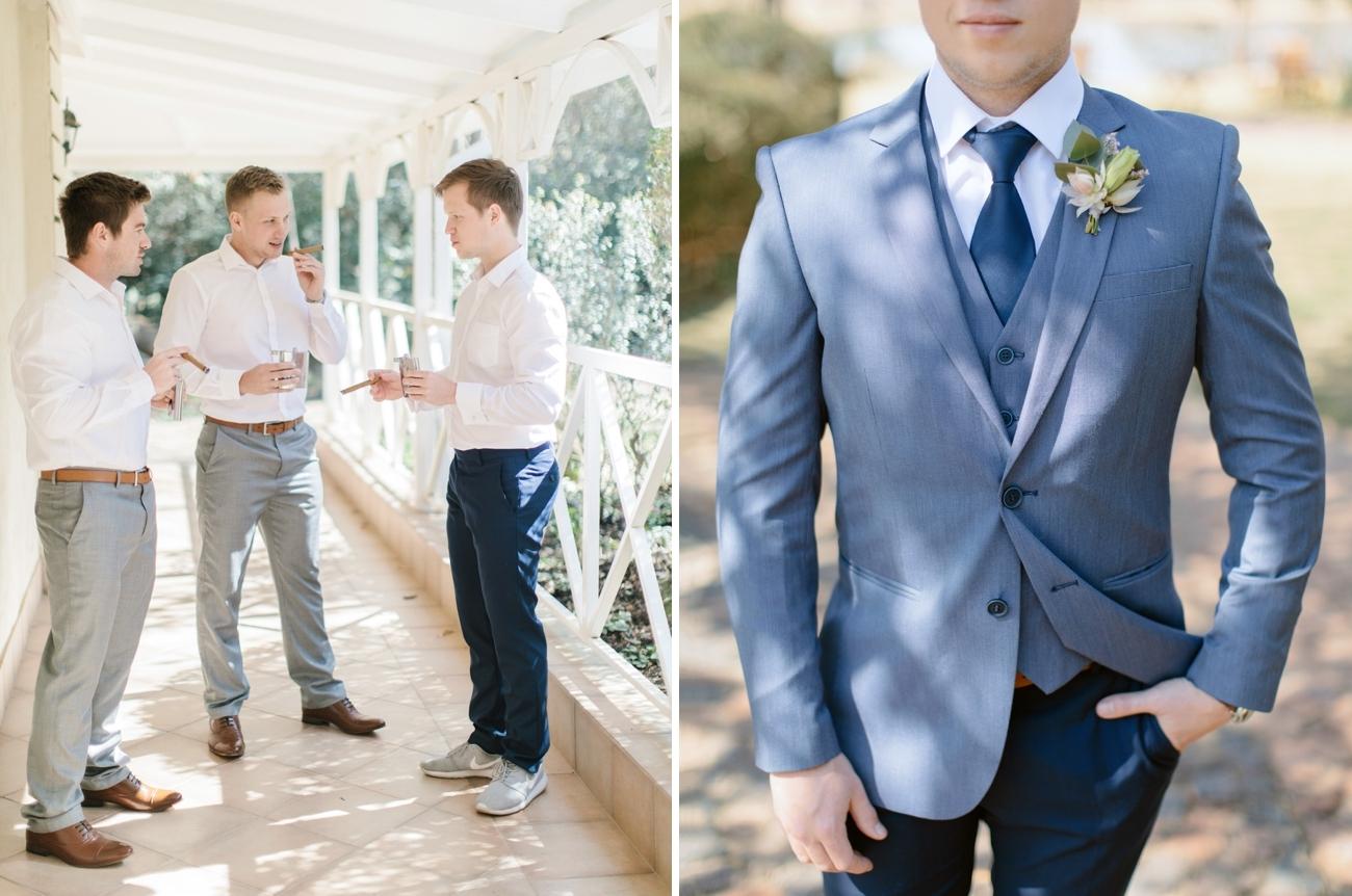Light Blue Groom Suit | Image: Rensche Mari