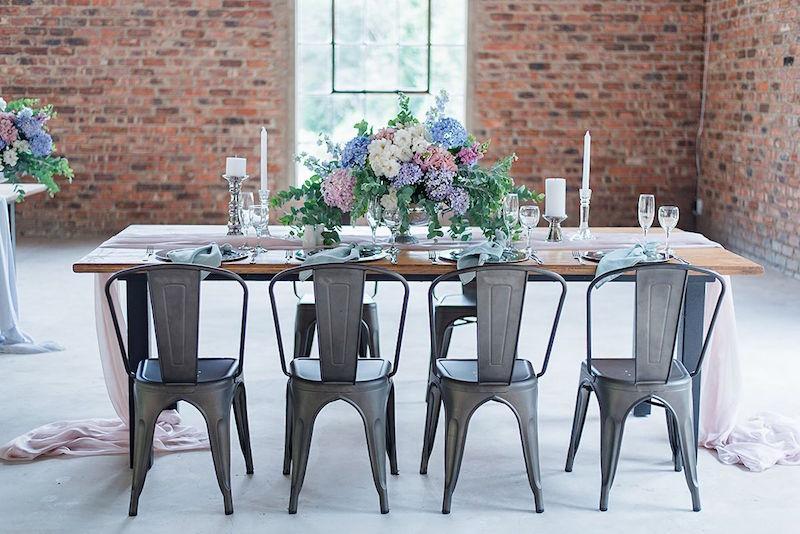 Pastel Industrial Wedding Inspiration | Image: Marilize Coetzee