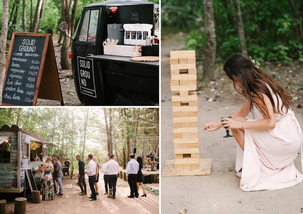 Food Truck Wedding Reception | Image: Cheryl McEwan