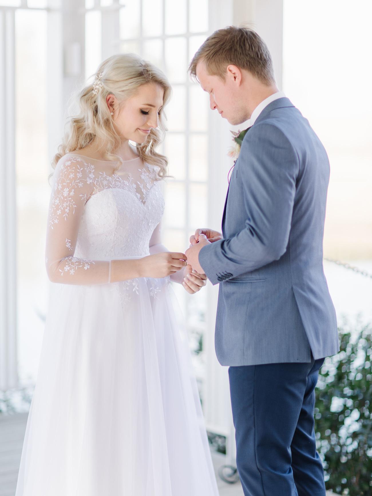 Oxbow Country Estate Wedding Ceremony | Image: Rensche Mari