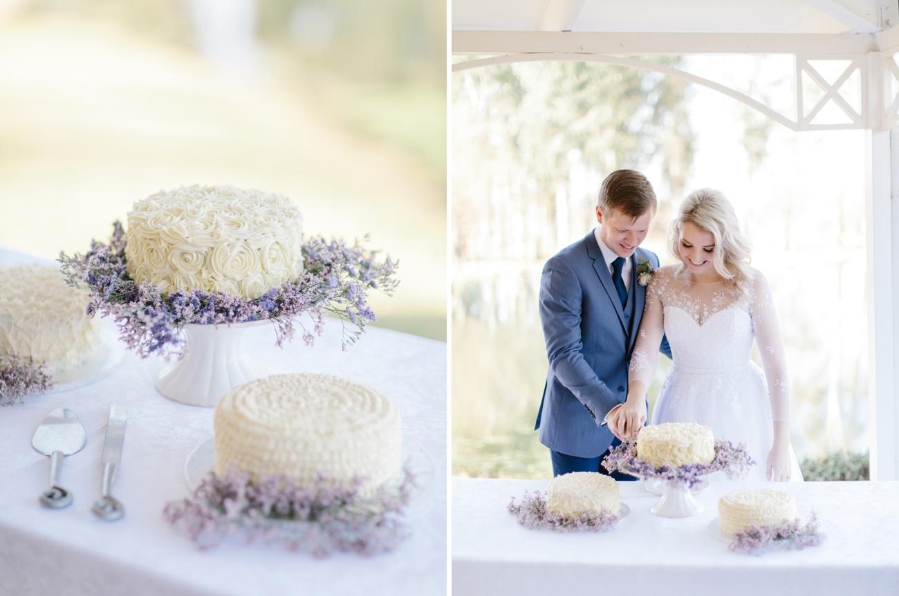 Wedding Cake in Three Parts | Image: Rensche Mari