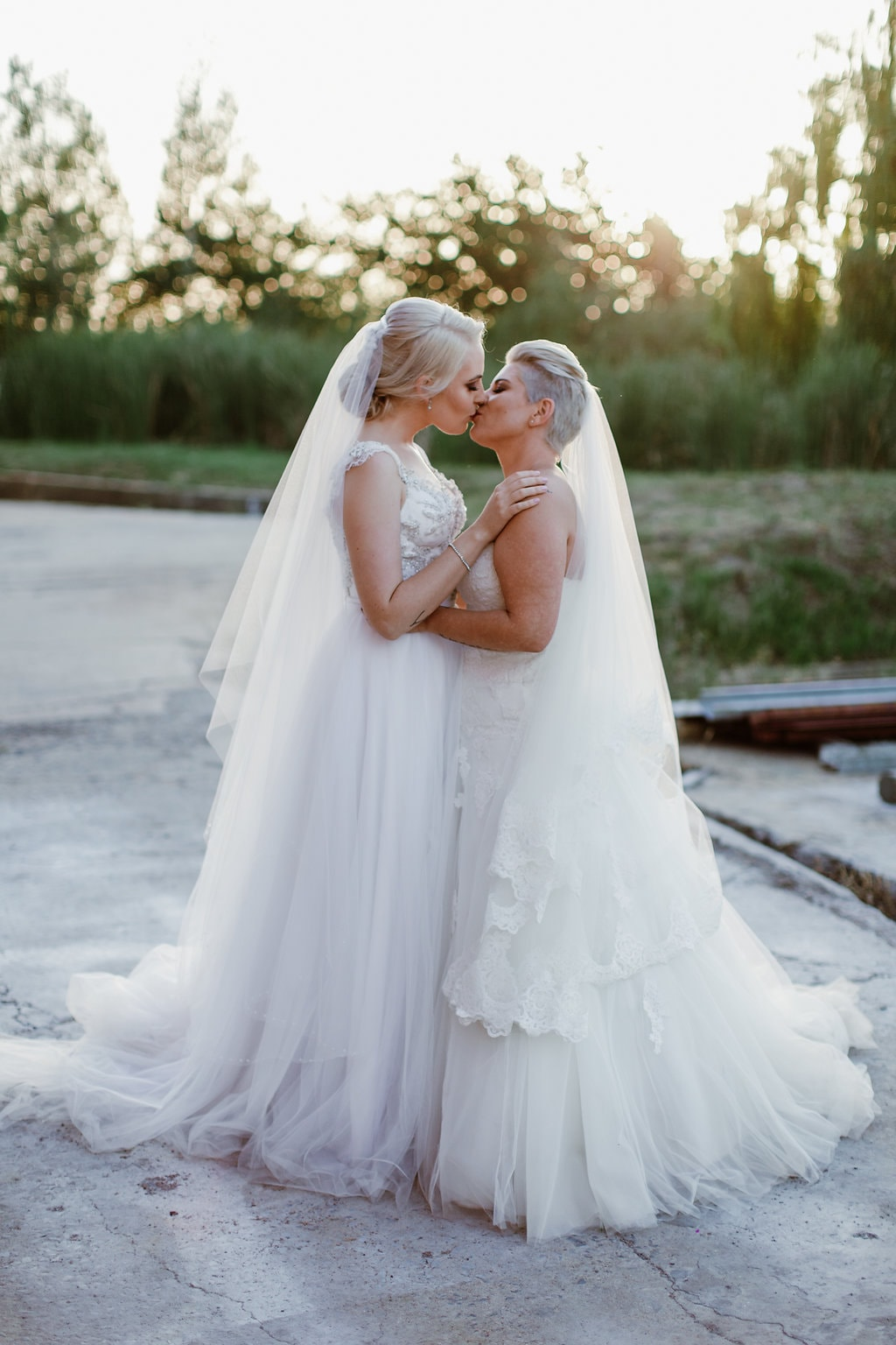 Two Brides | Image: Jenni Elizabeth