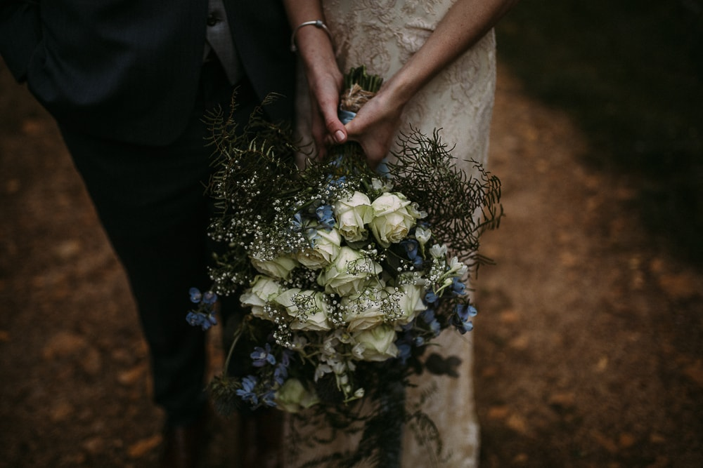Blue and White Bouquet | Image: Hayley Takes Photos