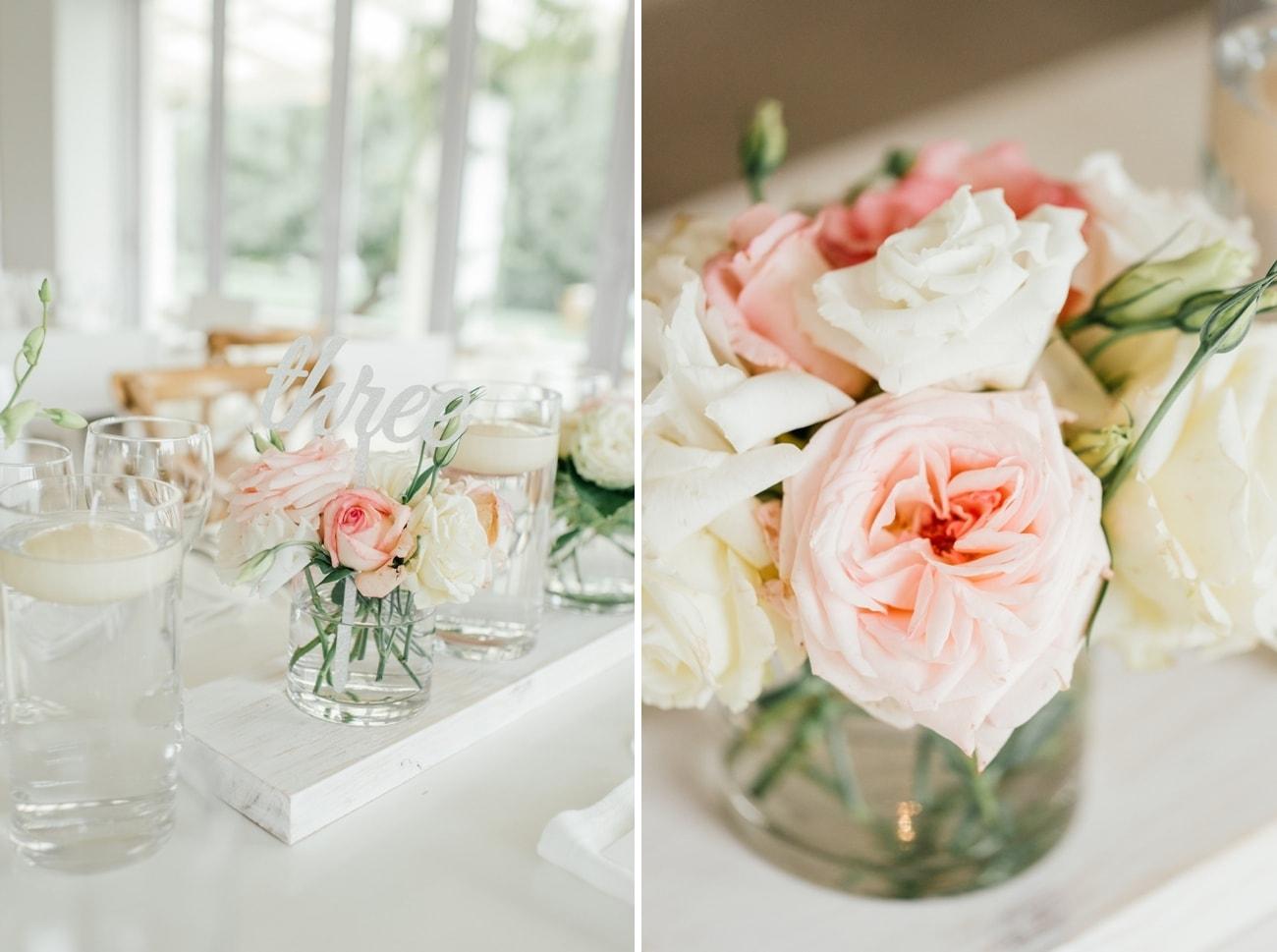 Garden Rose Centerpiece   Image: Carla Adel