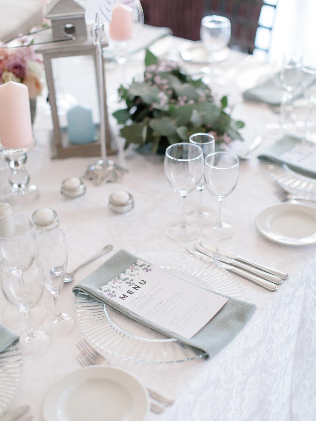 Pastel Table Decor | Image: Rensche Mari