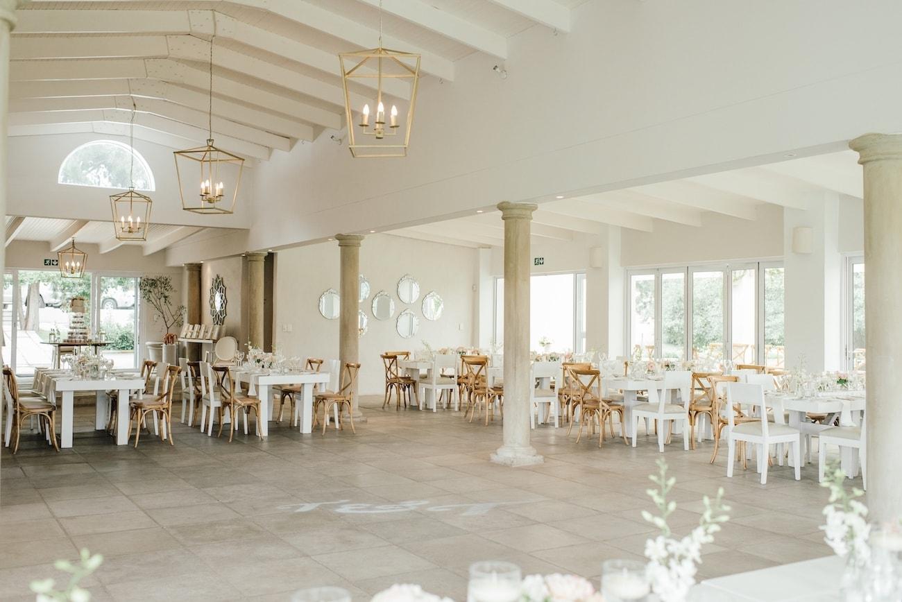 Wedding Decor at White Light   Image: Carla Adel