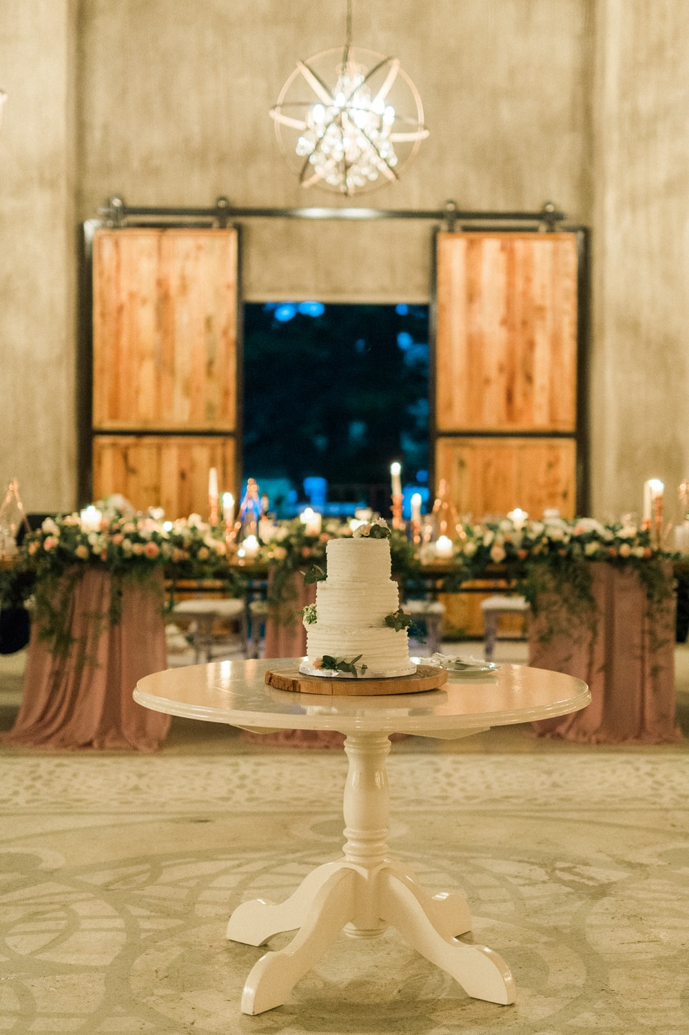 Wedding Cake Display | Image: Bright Girl Photography