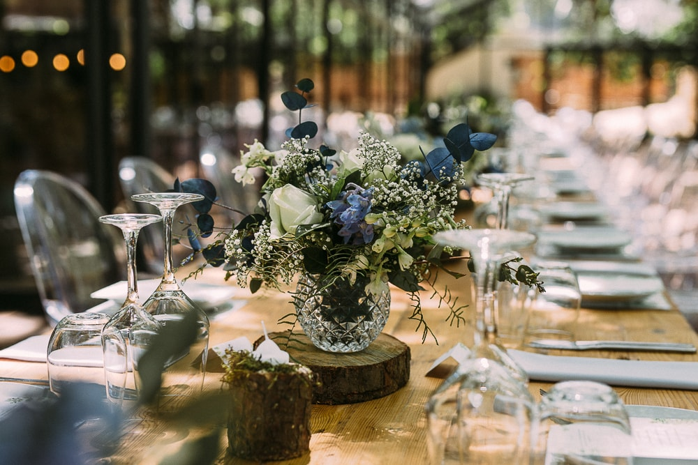 Festive Forest Wedding Decor at Die Woud | Image: Hayley Takes Photos