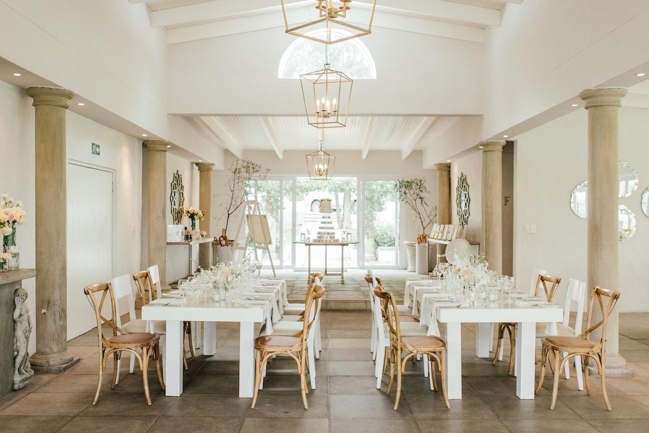 White Light Wedding Venue Johannesburg   Image: Carla Adel