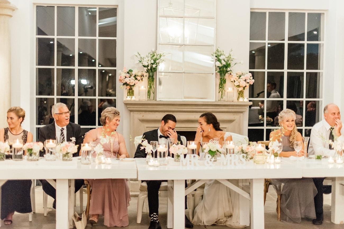Simply Elegant Modern Wedding at White Light   Image: Carla Adel