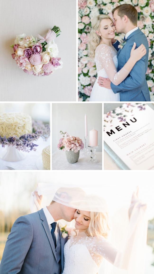 Romantic Pastel Wedding by Rensche Mari | SouthBound Bride