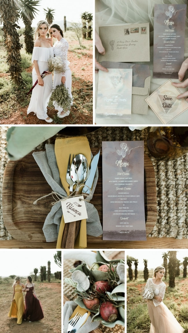 Boho Desert Wedding Inspiration by Natalie Loots Photography | SouthBound Bride