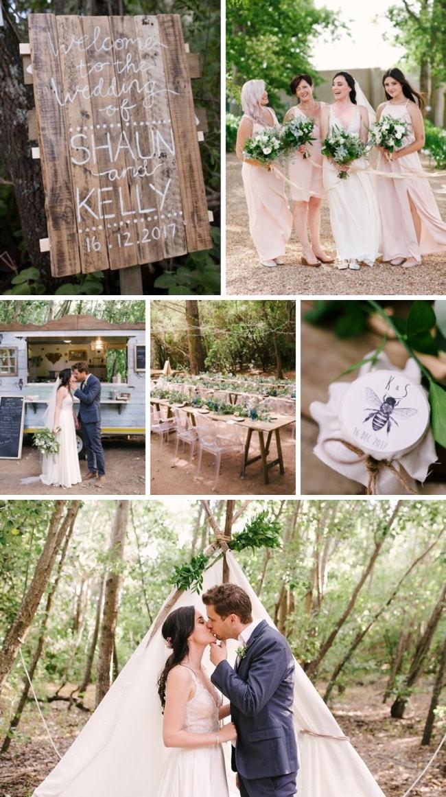 Forest Food Truck Wedding by Cheryl McEwan | SouthBound Bride