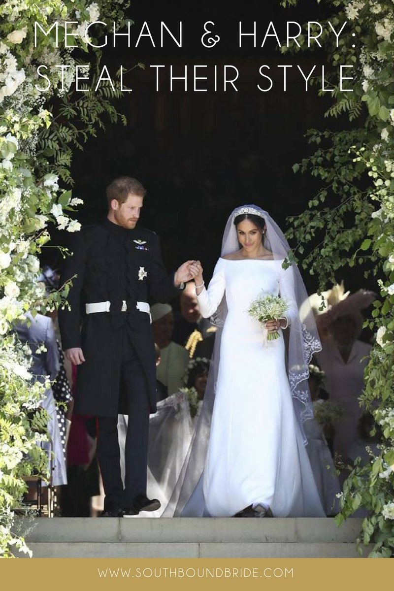 Meghan & Harry: Shop the Look | SouthBound Bride