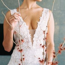 Modern Mansion Bridal Inspiration