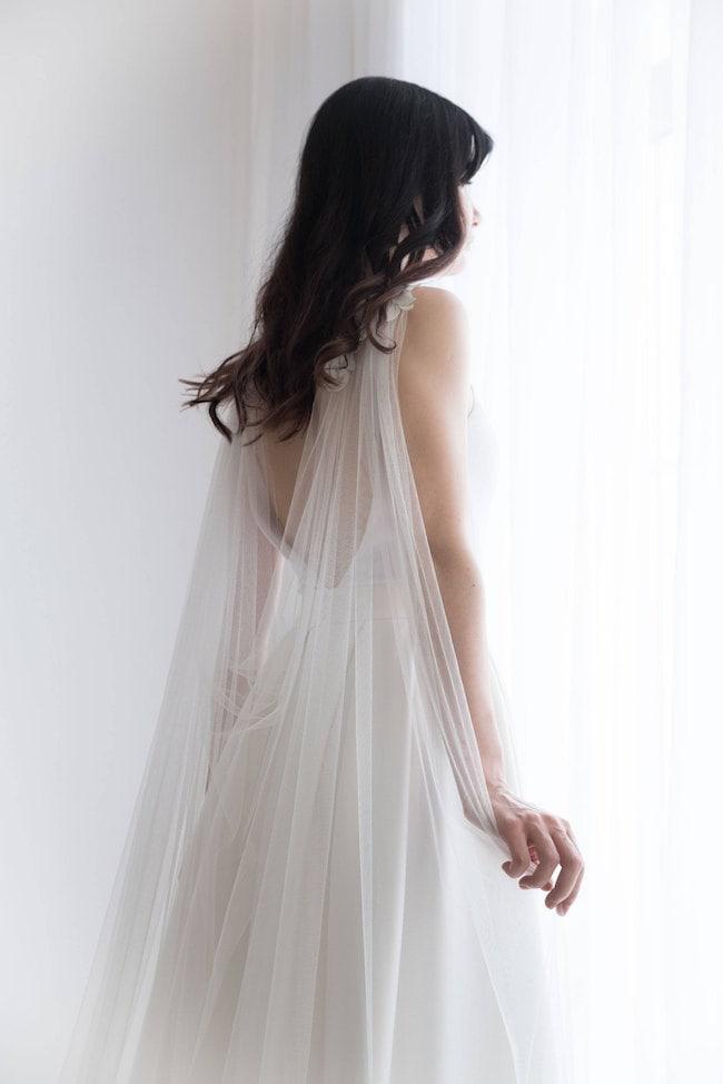 bridal capes