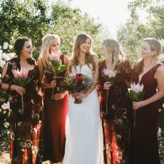 Cozy Rustic Wedding at Galileo Farm by Claire Thomson