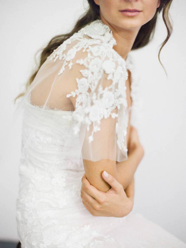 bridal capelets