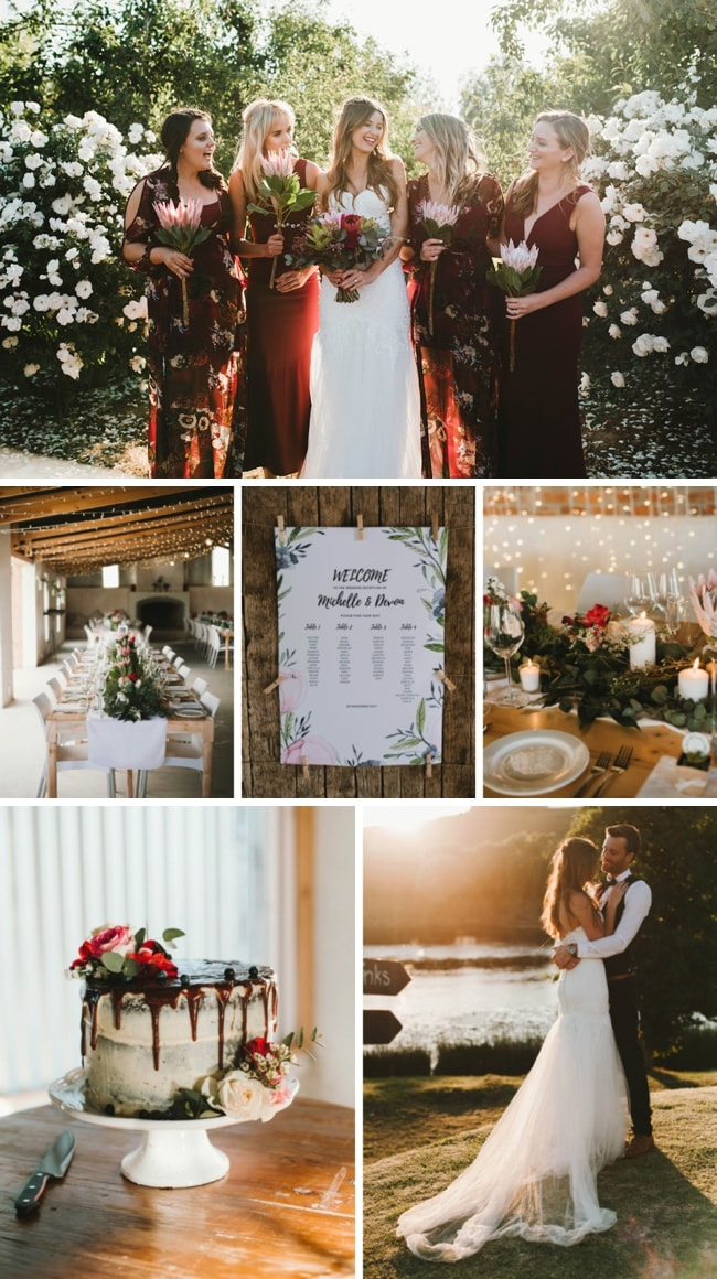 Cozy Rustic Wedding at Galileo Farm by Claire Thomson | SouthBound Bride