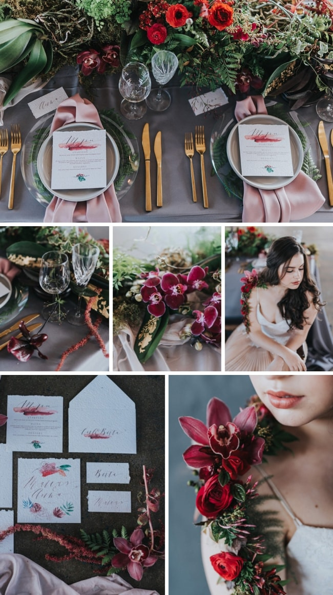 Moody Eco Chic Wedding Inspiration by Debbie Lourens & Happinest Weddings