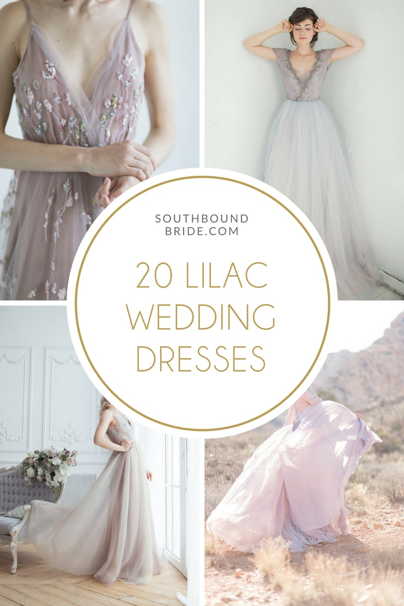 Lilac & Lavender Wedding Dresses | SouthBound Bride