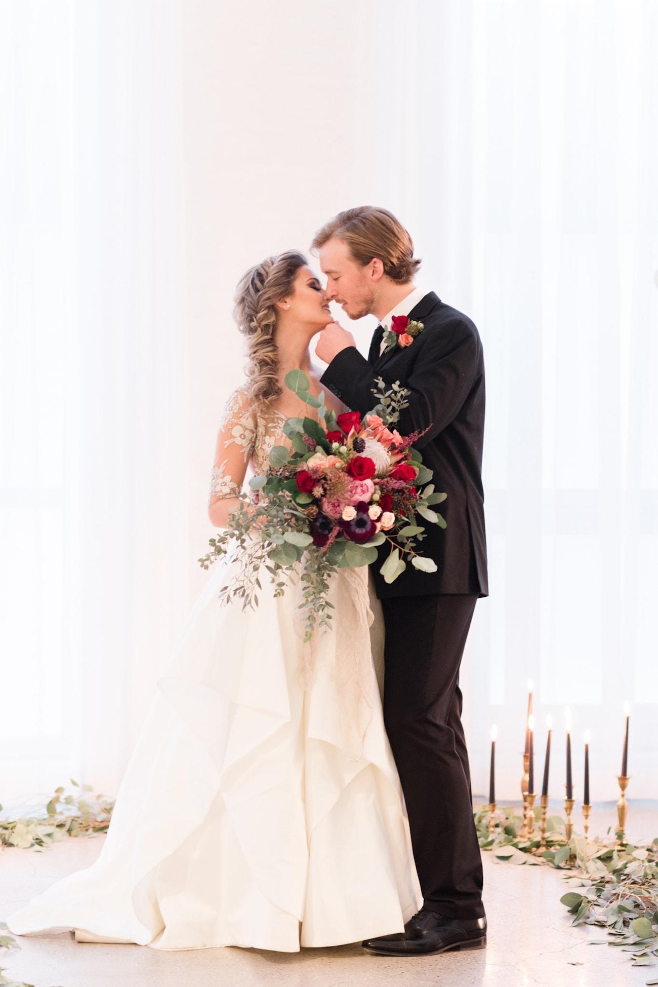 Summer Wedding Inspiration In Moody Tones By Tori Lynn