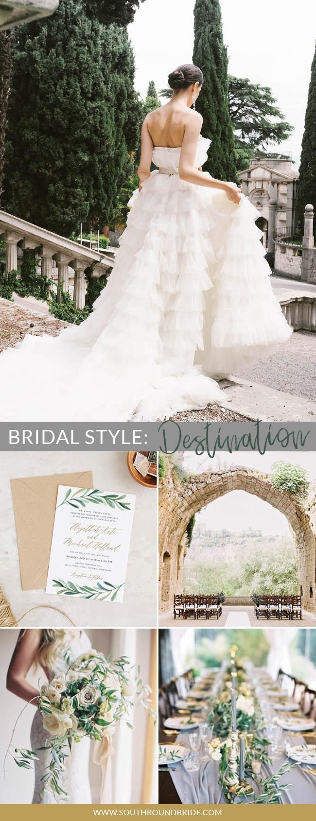 What's Your Bridal Style? Destination