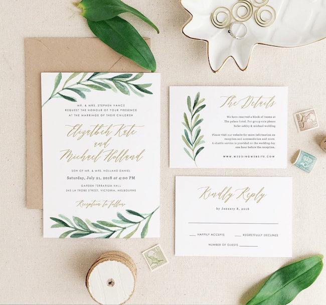 Destination Wedding Invitation Printable