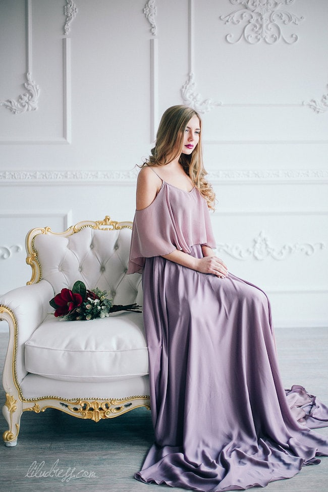 Lavender Wedding Gowns