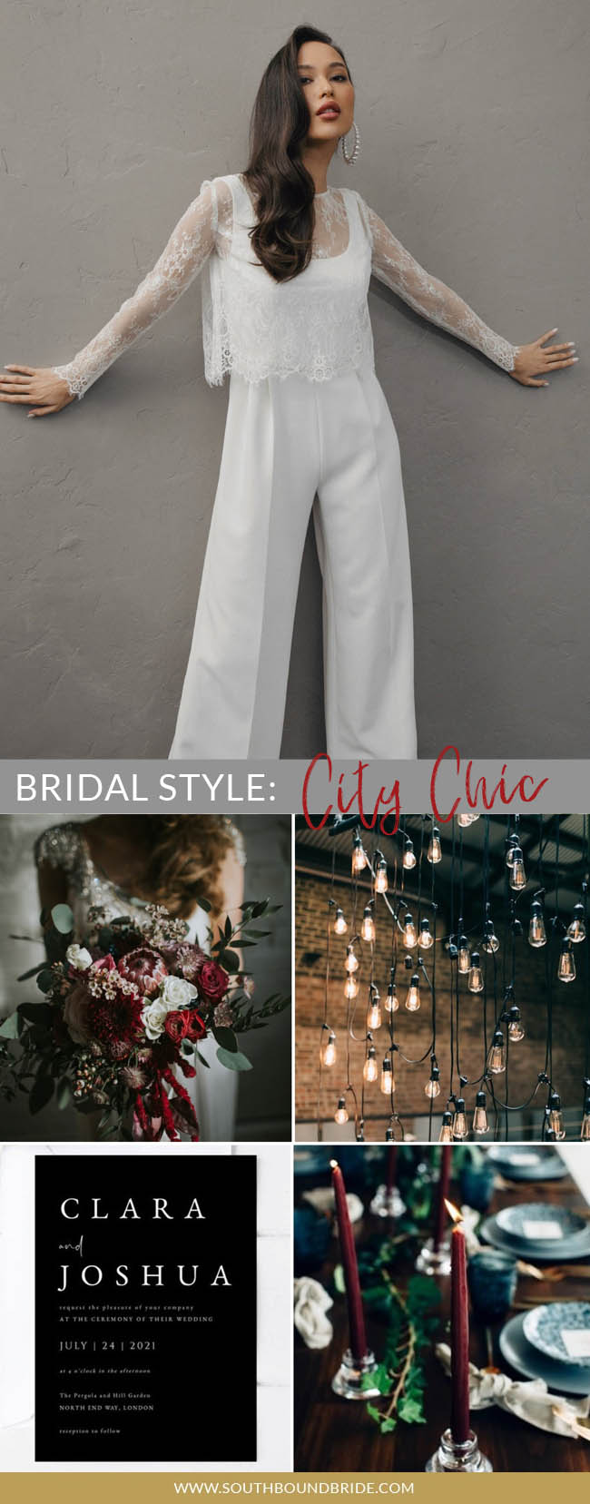 What's Your Bridal Style? City Chic