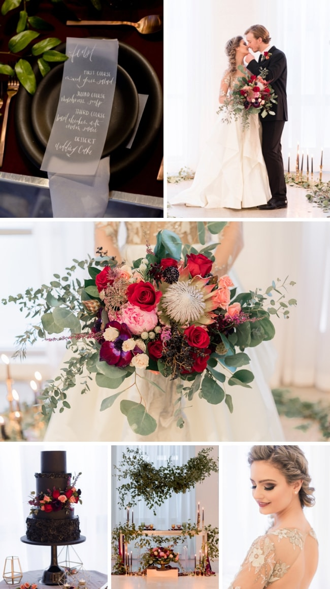 Summer Wedding Inspiration in Moody Tones by Tori Lynn Photography | SouthBound Bride