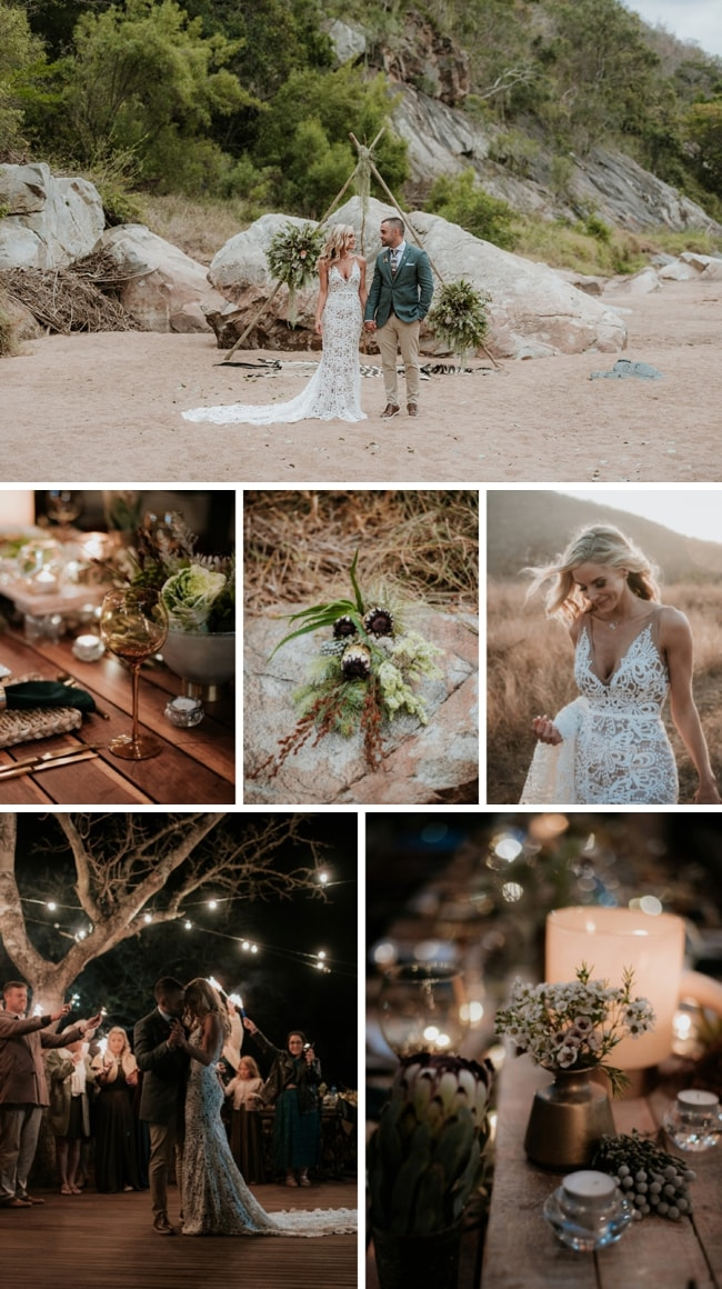 Bohemian Bushveld Wedding at Zebra Hills Safari Lodge by Derryn Schmidt | SouthBound Bride