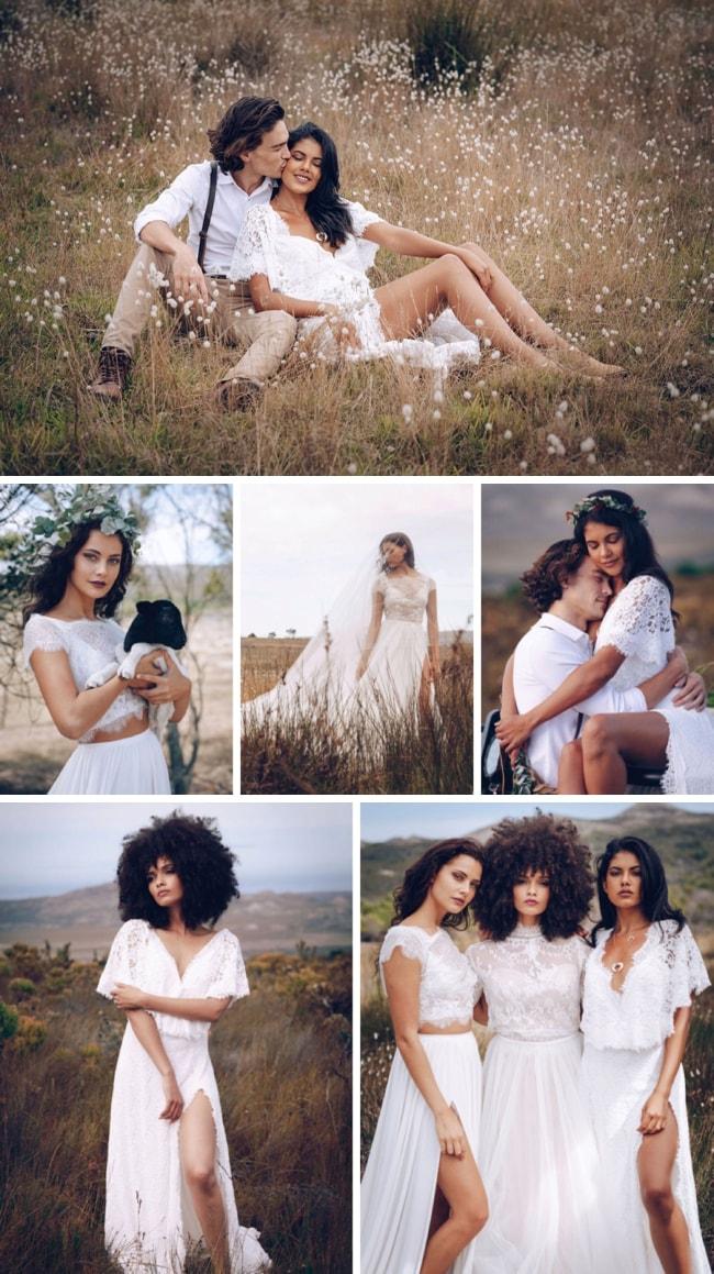 Love in the Fynbos Wedding Inspiration by Nina Zimolong, Zach Louw & Taryn Vogl | SouthBound Bride