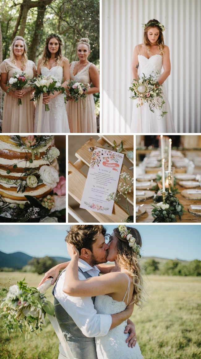 Pretty Rustic Forest Wedding by Yeah Yeah Photography | SouthBound Bride