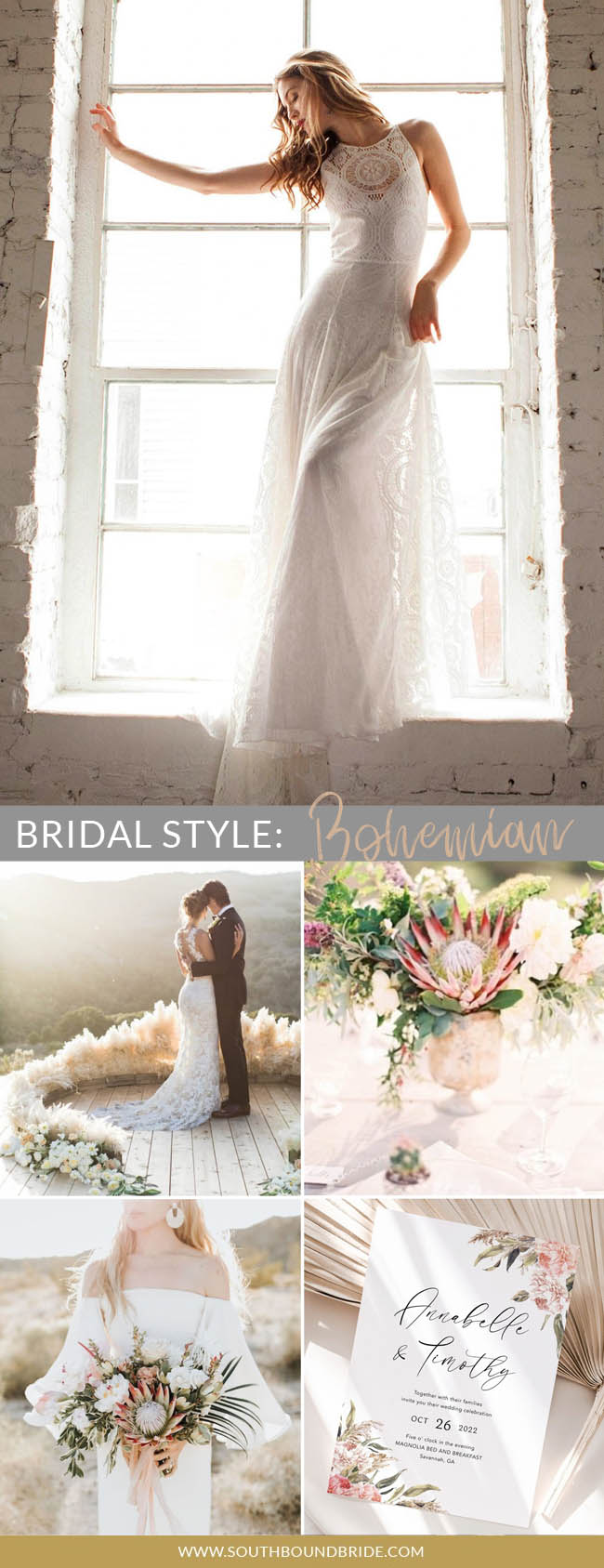 What's Your Bridal Style? Bohemian