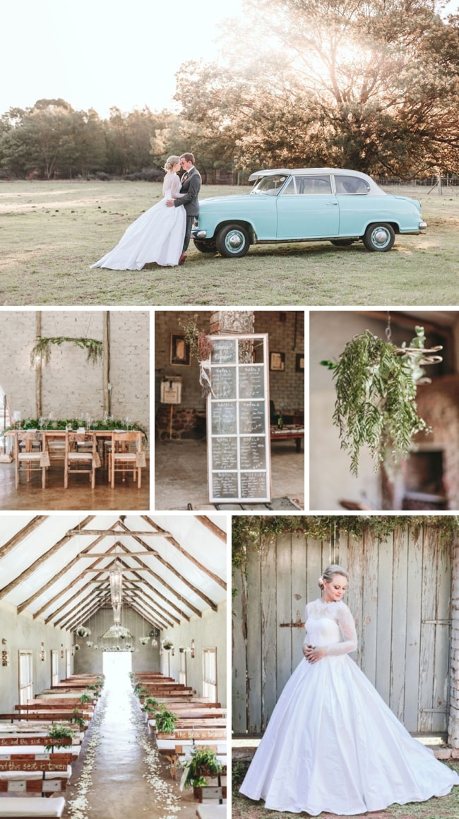 Greenery & Lace Wedding at Imperfect Perfection by Aline Photography | SouthBound Bride