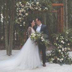 Edgy Fairytale Forest Wedding at Die Woud by Nikki van Diermen