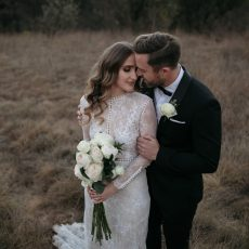 Industrial Rustic Black Tie Wedding at Lace on Timber by Page & Holmes