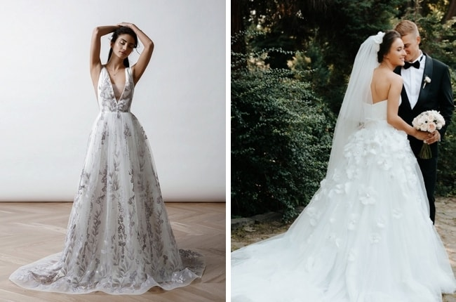 df378b871e542 The 2019 Wedding Dress Trends Brides Need to Know
