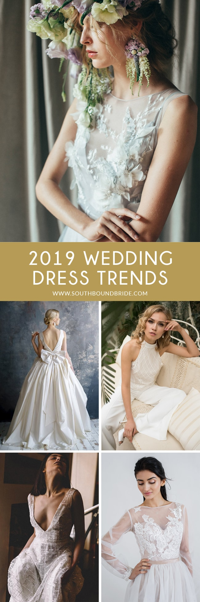 f87268405398 The 2019 Wedding Dress Trends Brides Need to Know
