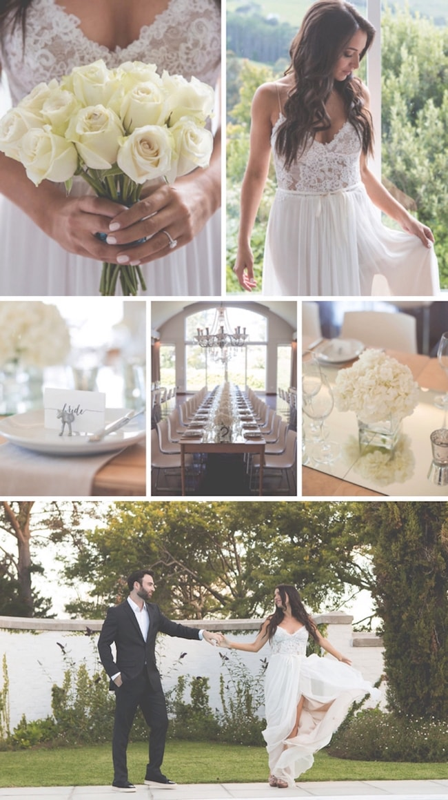 Understated Elegance Garden Wedding at Embassy Hill by Nikki van Diermen | SouthBound Bride